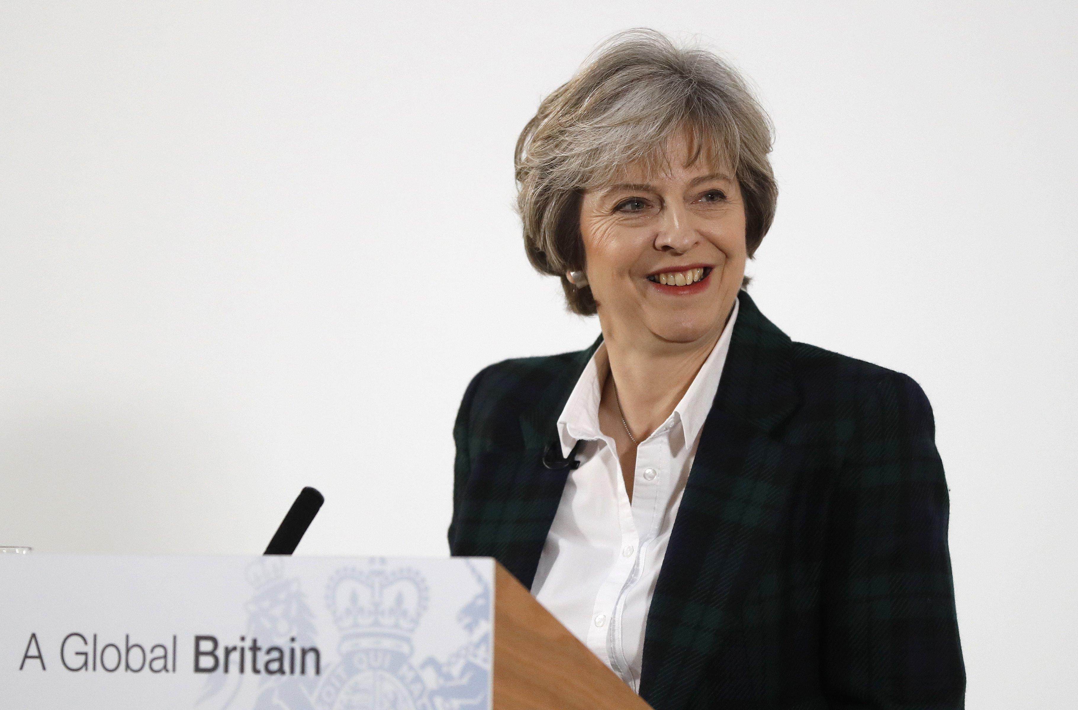 Theresa May, primer ministro de Reino Unido (AP)