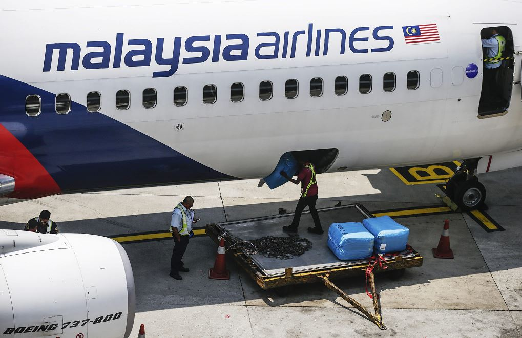 Foto: Un avión de la aerolínea Malaysia Airlines, 10 marzo 2019