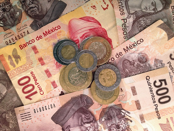 Pesos mexicanos. (Getty Images, Archivo)