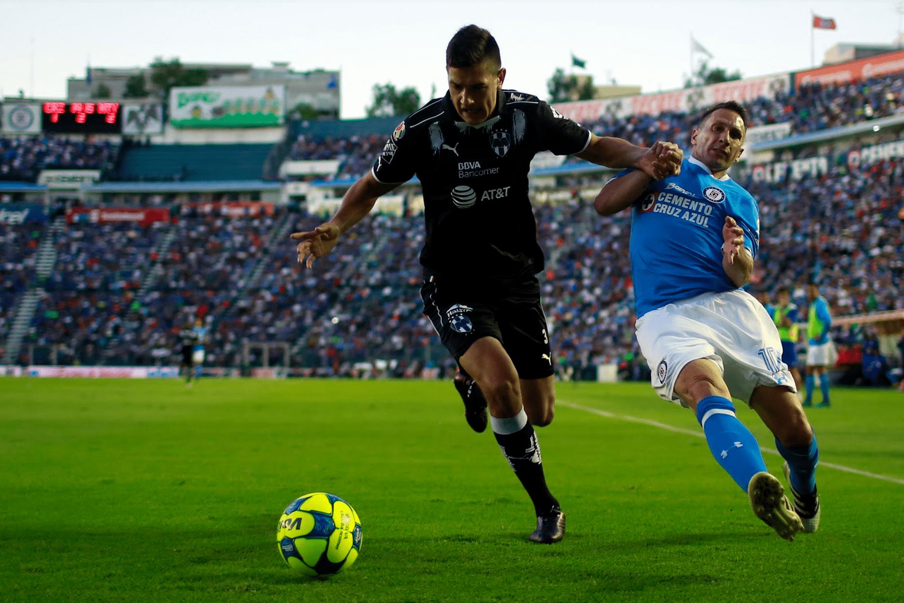 Foto:Juego Cruz Azul vs Monterrey de la Liga MX