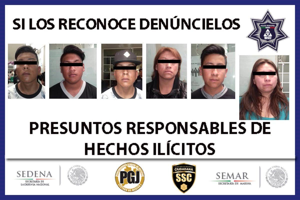 Detienen a 14 involucrados en saqueo de Chedraui en Nicolás Romero
