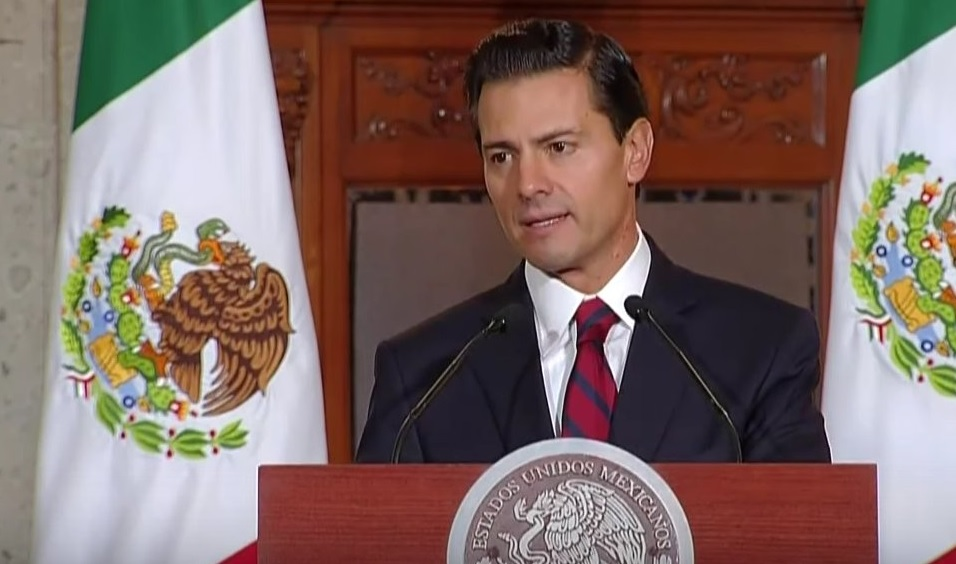 El presidente de México, Enrique Peña Nieto