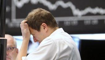 Operador de la Bolsa de Frankfurt (AP)
