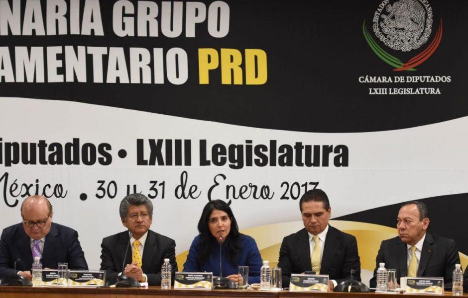 El PRI hizo un llamado a la unidad nacional para defender a México de las amenazas del presidente estadounidense, Donald Trump (Twitter/@Ale_BarralesM)