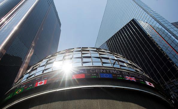 Vista desde afuera de la Bolsa Mexicana de Valores (Getty Images, archivo)
