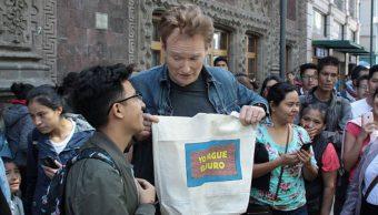 Conan O'Brien en México (Getty Images)