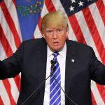 El presidente de Estados Unidos, Donald Trump, en el Treasure Island Hotel & Casino el 8 de octubre de 2015 en Las Vegas, Nevada. (Getty Images/archivo)
