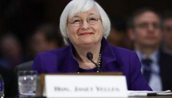 La presidente de la Reserva Federal, Janet Yellen (Getty Images)