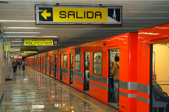 Fotografía que muestra un convoy de la Línea 5 del Metro. (Getty Images)
