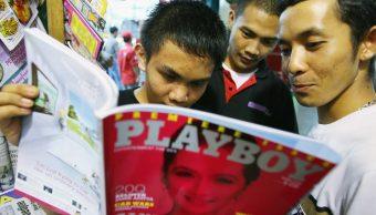 Los hombres jóvenes y no tan jóvenes podrán volver a echar un vistazo a 'Playboy' para apreciar desnudos (Getty Images/archivo)