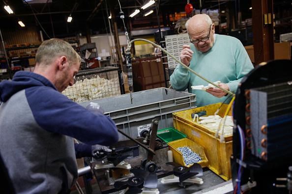 La producción fabril en Reino Unido anotó a fines de 2016 y comienzos de 2017 su mayor crecimiento en casi siete años. (Getty Images)