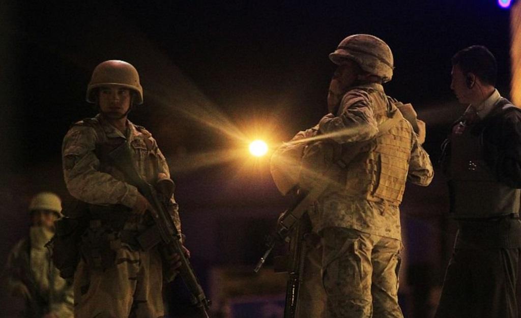 Carabineros de Chile mantiene detenidos a militares y aduaneros de Biolivia (Twitter @InformaAlMinuto)