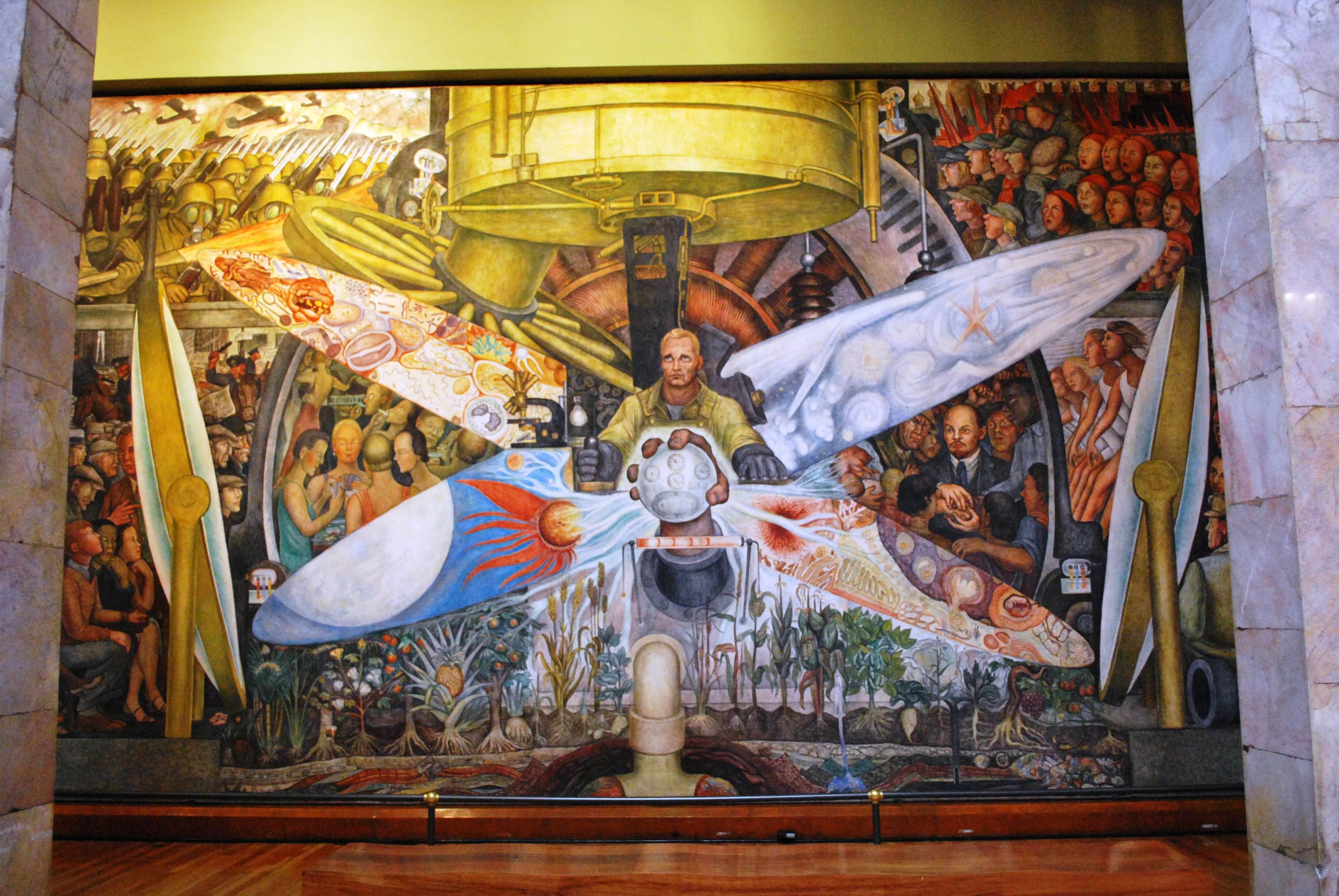 El mural que Diego Rivera hizo a los Rockefeller... y ellos destruyeron