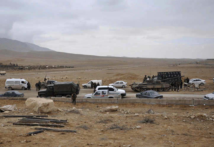 El ejército sirio asume el control de la ciudad de Palmira, que estaba en poder de los yihadistas del Estado Islámico. (AP)