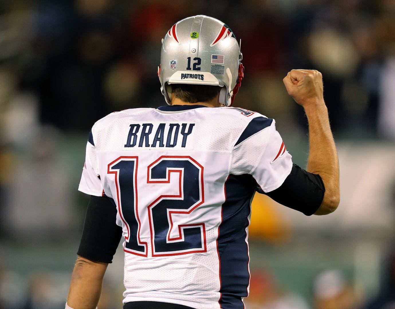 Jersey robado de Brady fue hallado en México. (AP)