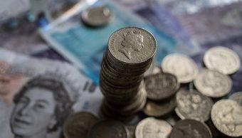 Tipo de cambio de la moneda británica. (Getty Images)