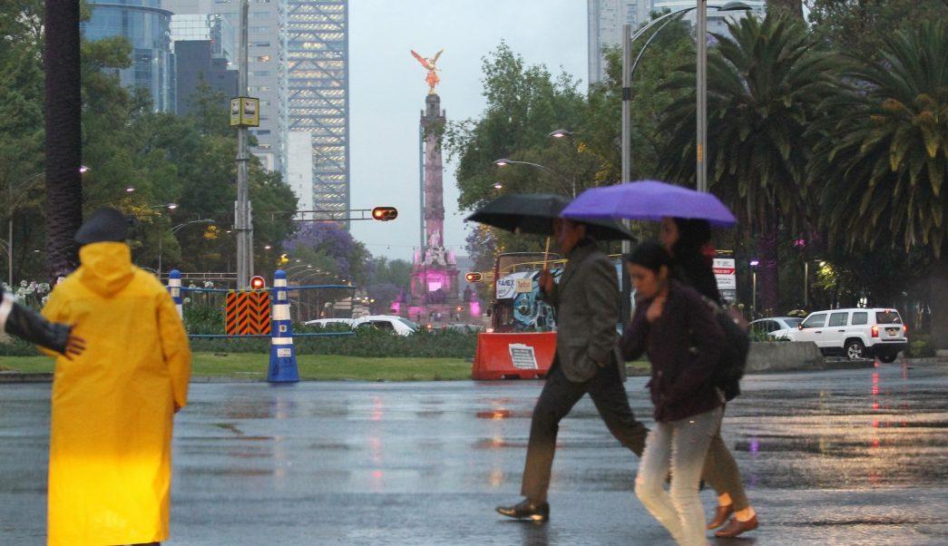 Llueve en al menos 11 delegaciones de la CDMX