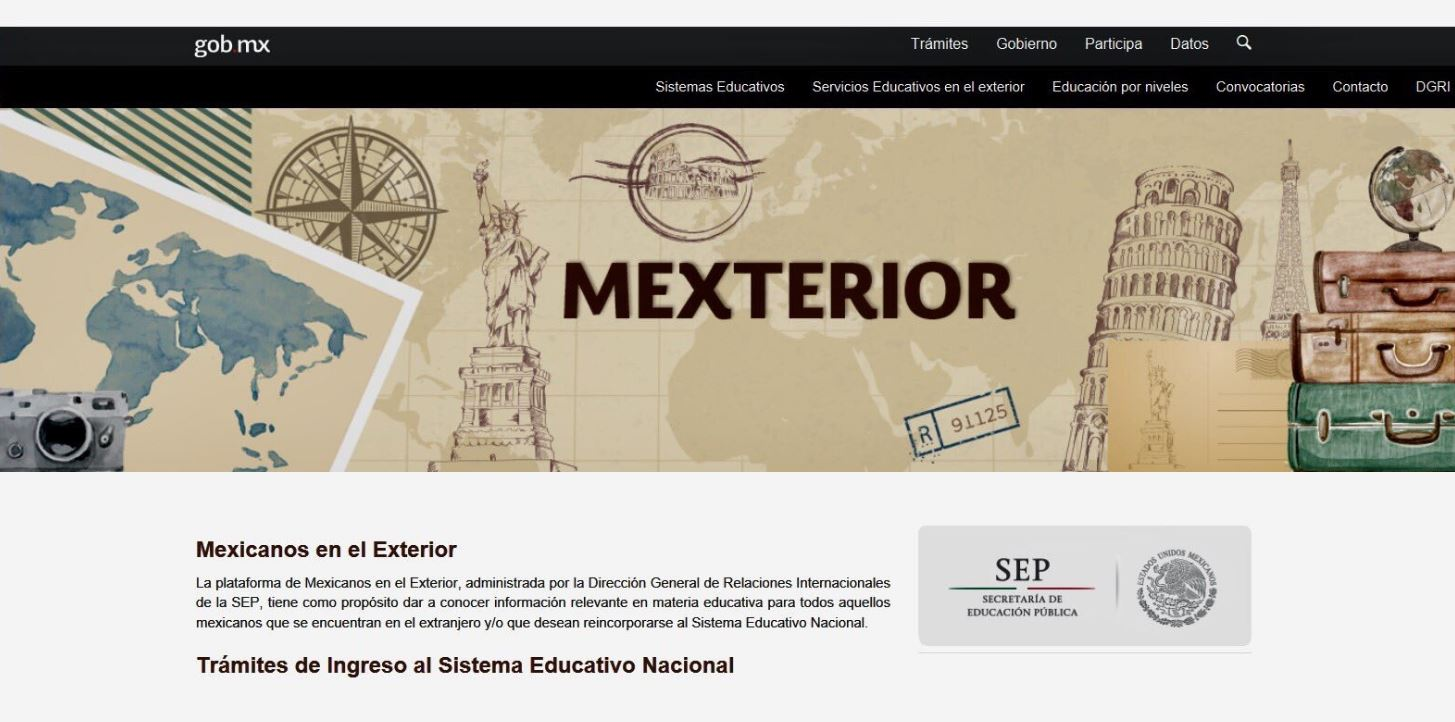 Sep orienta a connacionales para ingresar al sistema for Mexterior convocatorias