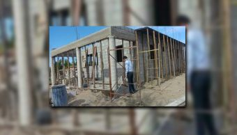 Construcción en zona de manglar de Novolato, Sinaloa; personal de la Profepa clausura las obras (Profepa)
