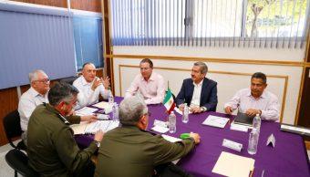 Salvador Cienfuegos se reúne con el gobernador de Sinaloa para reforzar la estrategia de seguridad en la entidad (Twitter @gobsinaloa)
