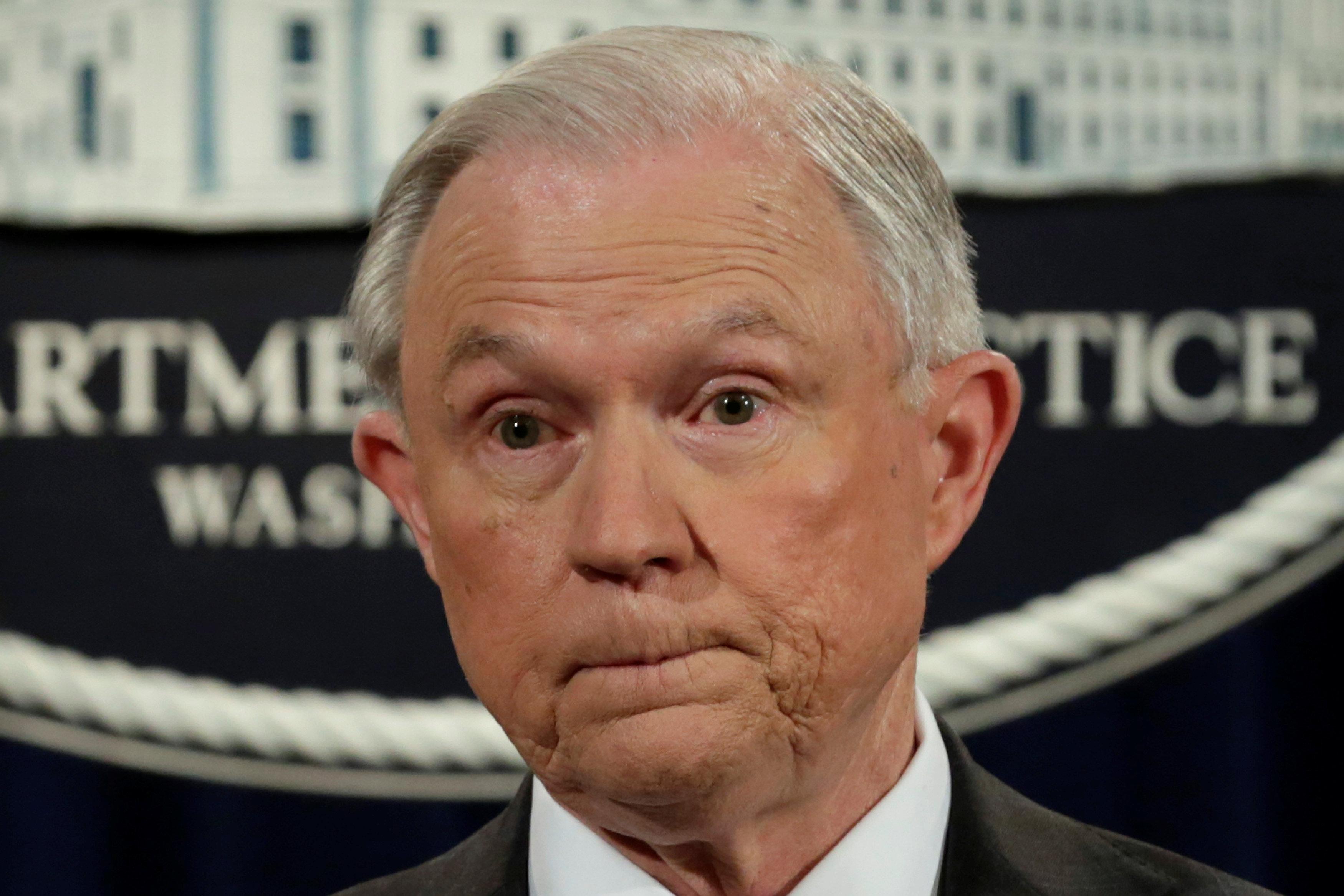 Jeff Sessions, procurador general de Estados Unidos. (Reuters, archivo)