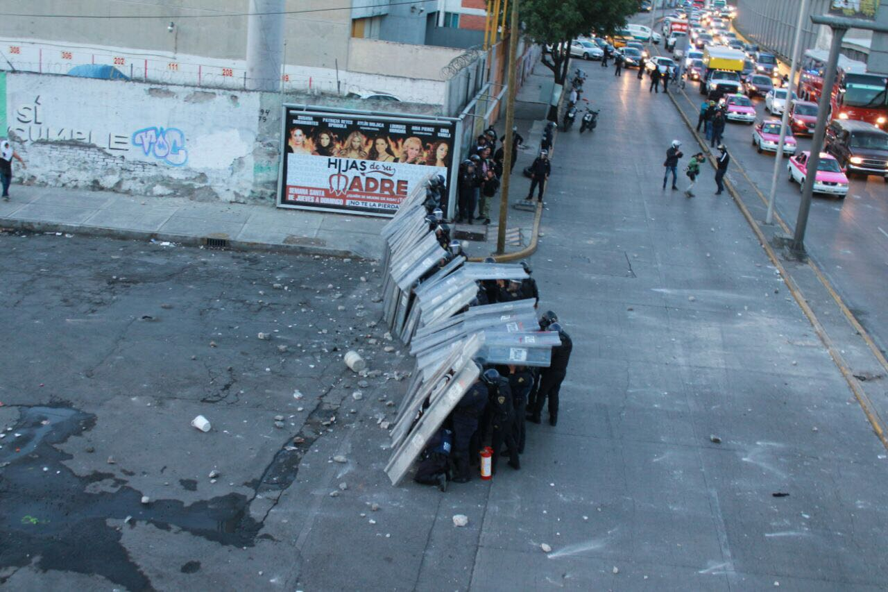 Enfrentamiento en la colonia Pensador Mexicano. (SSPCDMX)