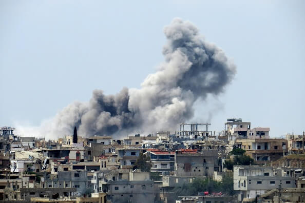 ataque en siria por estados unidos, mueren