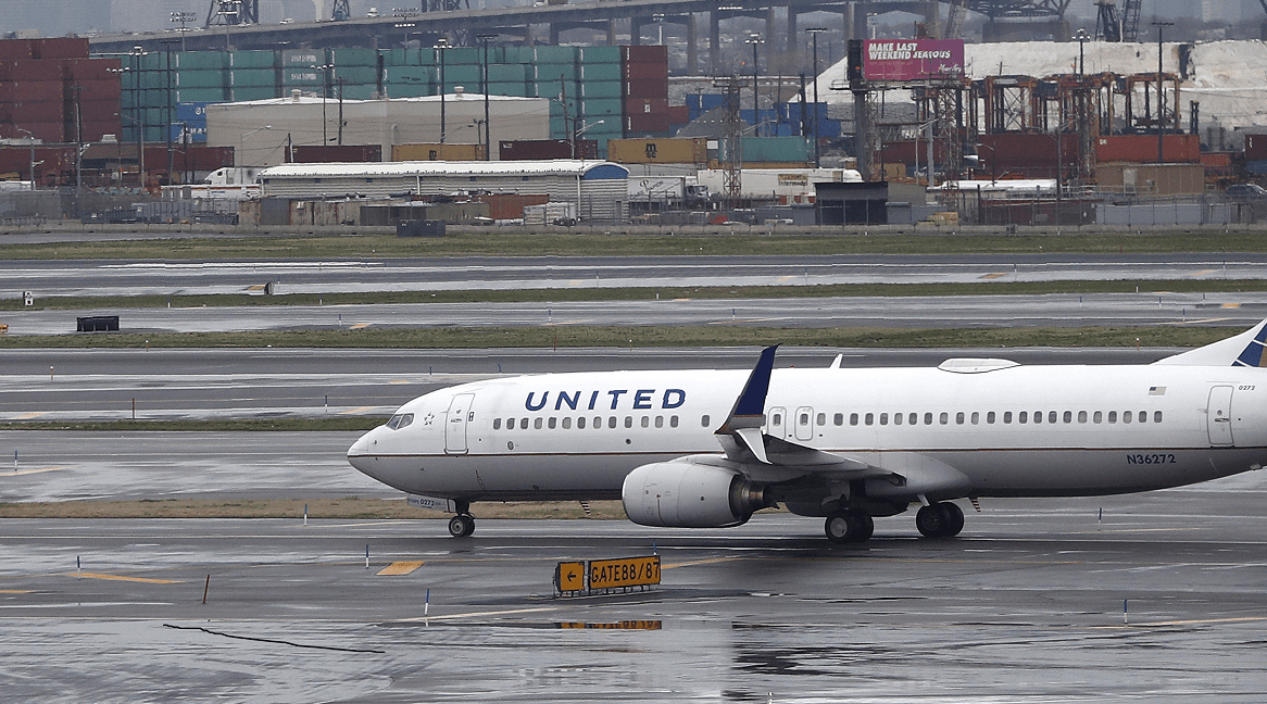 Avión de United Airlines (AP, archivo)