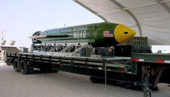 La Madre de todas las Bombas, 'Mother Of All Bombs', MOAB, (AP, archivo)