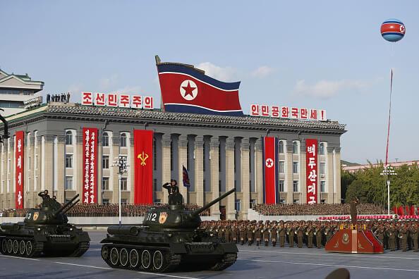 Corea del Norte también amenazó con destruir con uno de sus misiles al portaaviones nuclear estadounidense Carl Vinson. (Getty images, archivo)