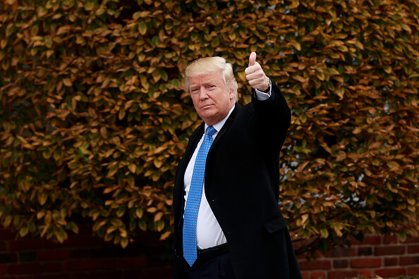 Donald Trump, presidente de Estados Unidos. (Getty images, archivo)