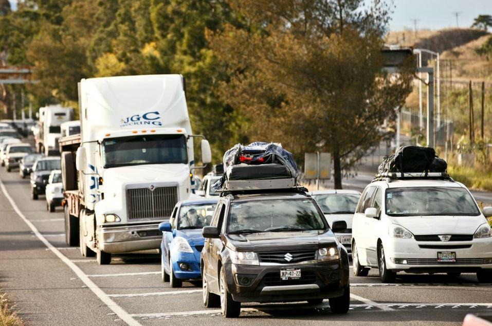 Para llegar seguros a su destino, las autoridades piden a los automovilistas no conducir cansados (Twitter/@IssstePuebla)