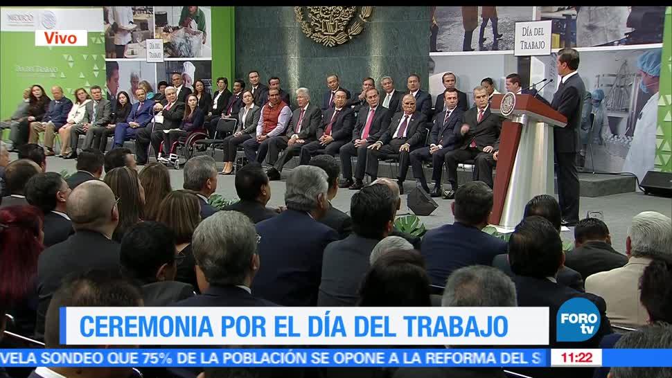 presidente, México, Enrique Peña Nieto, Día del Trabajo