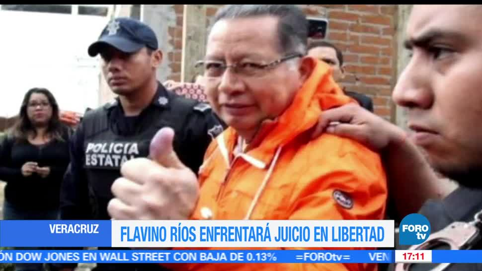 Flavino Ríos, El exgobernador interino de Veracruz, fianza de 5 mdp, veracruz, duarte, fianza