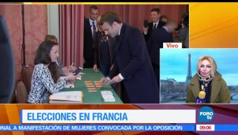 Kasia Wyderko, Francia, fuerzas políticas, Marine Le Pen