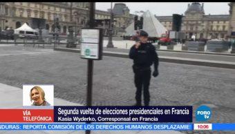 Kasia Wyderko, autoridades galas, elecciones presidenciales, Francia