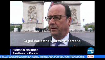 presidente de Francia, Francois Hollande, Emmanuel Macron, heredero político