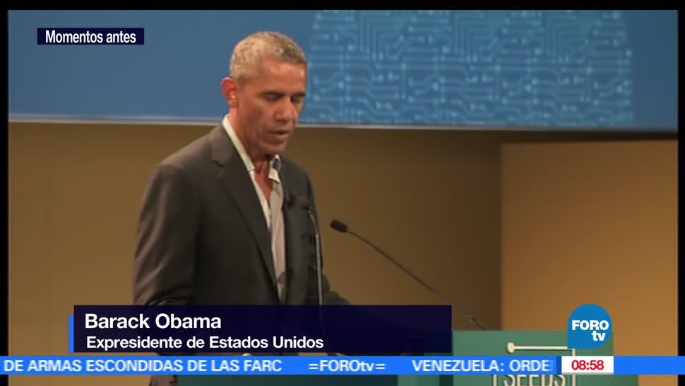 expresidente, Estados Unidos, encuentro internacional, innovación, materia alimentaria