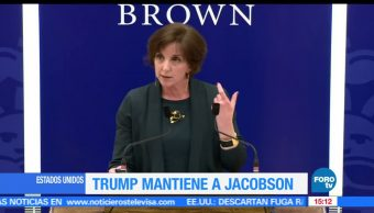 Trump, mantendrá, Jacobson, embajada de EU en México