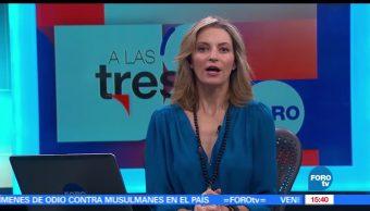 A las Tres, Programa completo, 9 de mayo, Ana Paula Ordorica