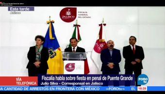 El fiscal de Jalisco, Eduardo Almaguer, Puente Grande, administración anterior