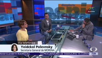Yeidckol Polevnsky, AMLO, Morena, secretaria general