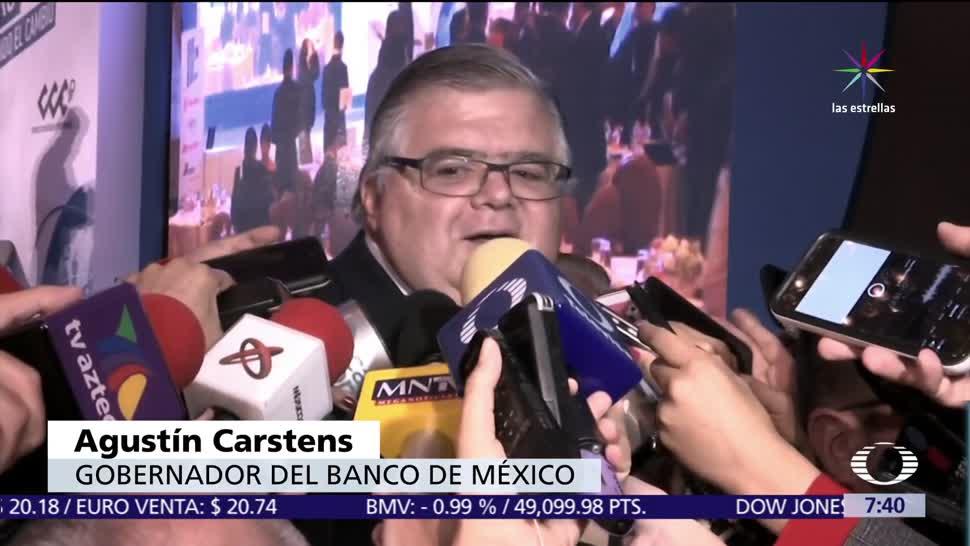 Carstens, logrará meta, inflación, Banxico