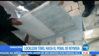 Localizan, túnel, penal de Reynosa, Tamaulipas, fuga, reos