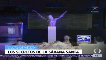 Inauguran exposición, Los Secretos de la Sábana Santa, Catedral CDMX, réplica exacta