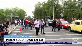 estudiantes de la UNAM, seguridad, campus Ciudad Universitaria, campus, Ciudad Universitaria