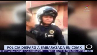 policía de la CDMX, personas, marcar un alto, vehículo sin placas