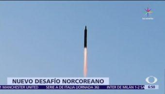 nueva prueba, misil de mediano alcance, aire, recorrido