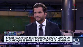 Pacchiano, titular de la Semarnat, Despierta con Loret, preservar la vaquita marina