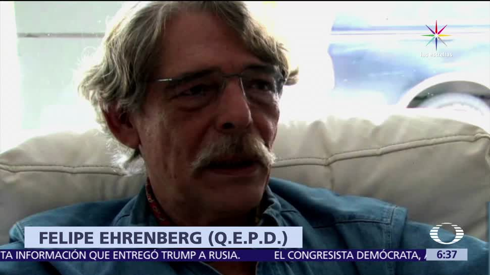ensayista, Felipe Ehrenberg, paro cardiaco, 74 años